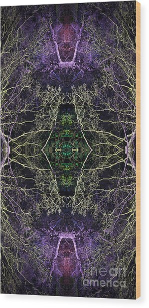 Anahata Wood Print by Tim Gainey
