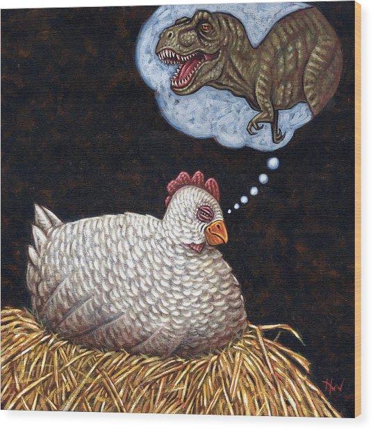 Ancestor Dreams Wood Print