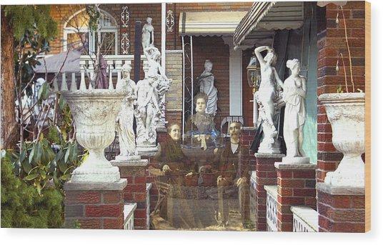 Ancestral Home Wood Print by Roslyn Rose
