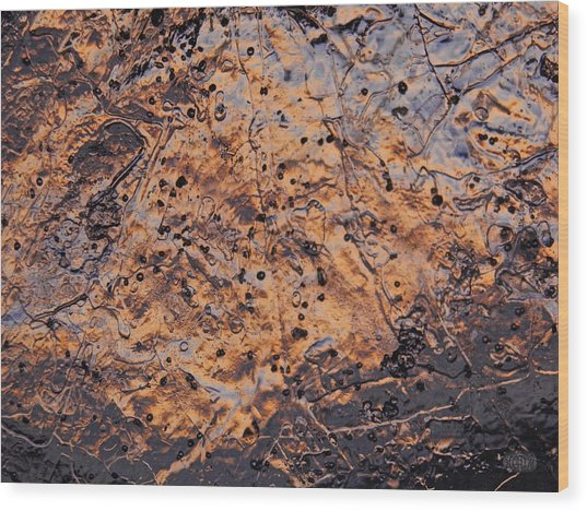 Ancient Map Wood Print