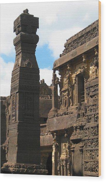 Ancient Tower Wood Print