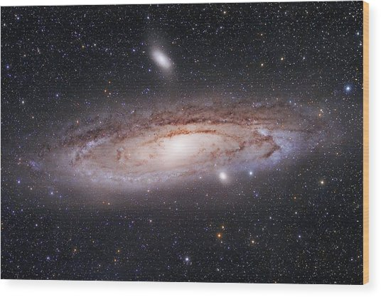 Andromeda Galaxy Wood Print