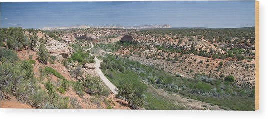 Angel Canyon Utah Wood Print