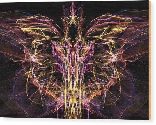 Angel Of Death Wood Print