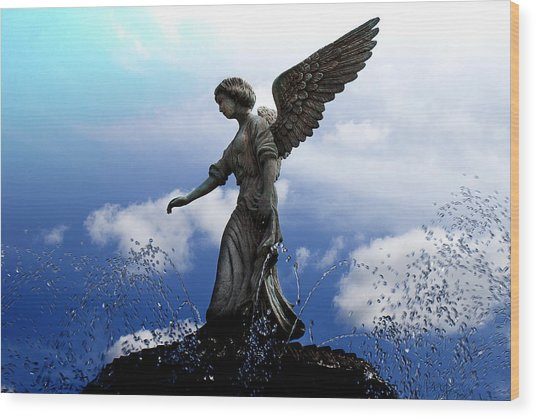 Angel's Love Wood Print