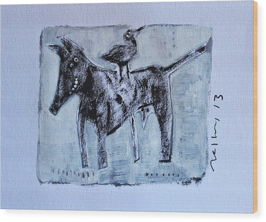 Animalia Canis No. 3 Wood Print