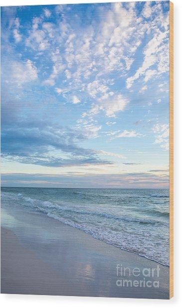Anna Maria Island Beach Wood Print