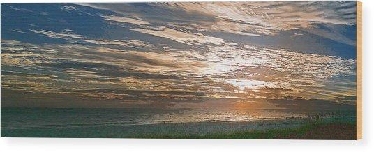 Anna Maria Island Sunset Wood Print