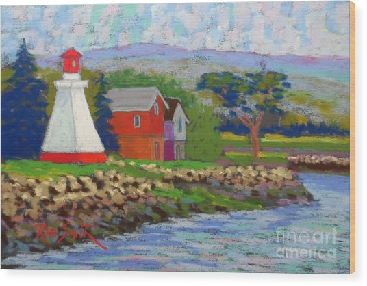 Annapolis Royal Lighthouse 2 Wood Print