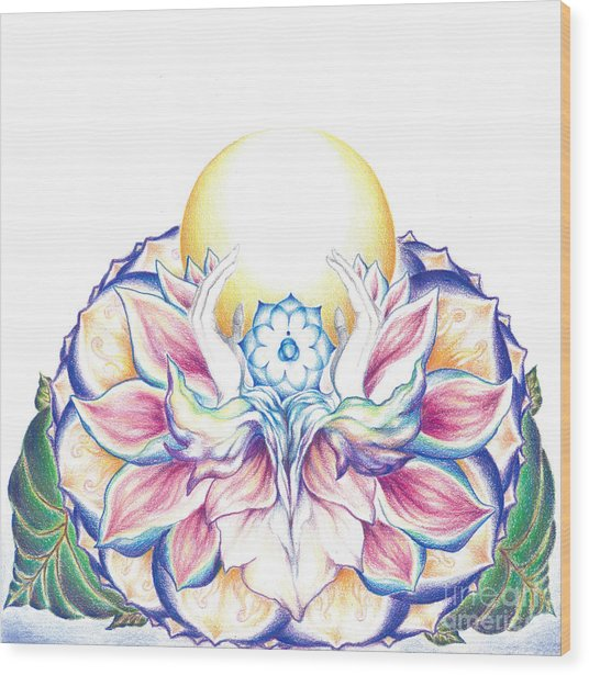 Antaryamin Oneness Art Wood Print