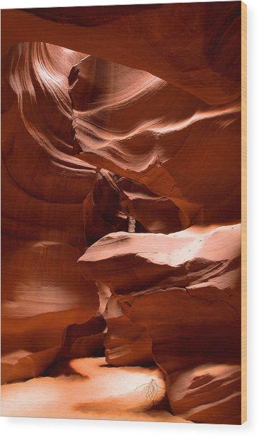 Antelope Canyon 1 Wood Print