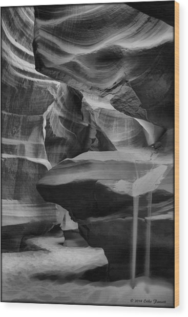 Antelope Canyon 2 Wood Print
