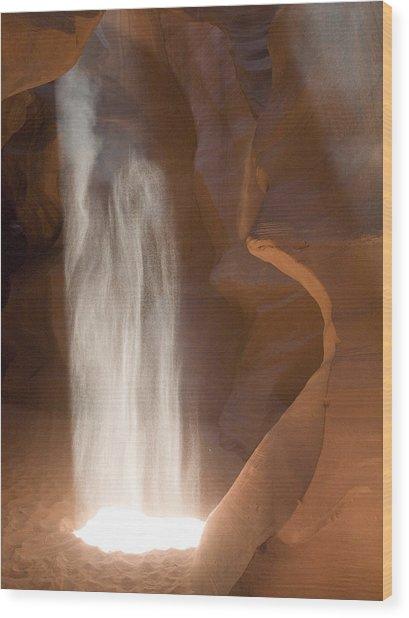 Antelope Ghost Wood Print
