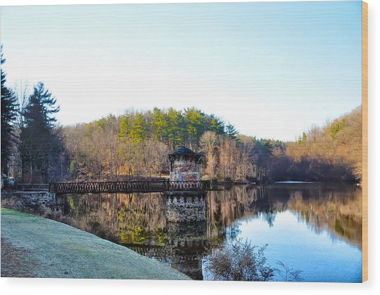 Antietam Creek - Berks County Pa. Wood Print