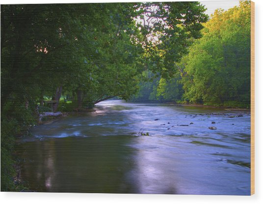 Antietam Creek - Hagerstown Maryland Wood Print