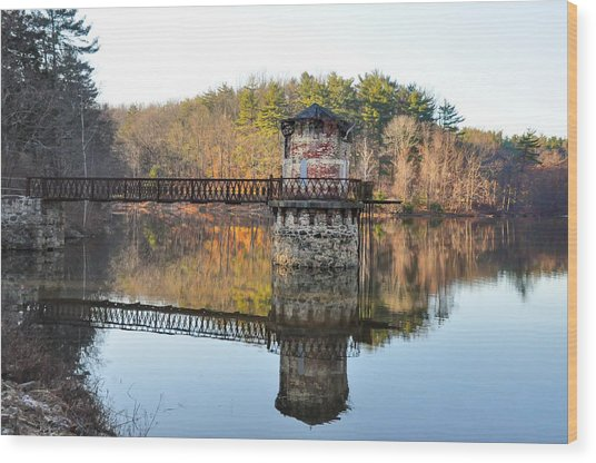 Antietam Lake - Reading Pa Wood Print