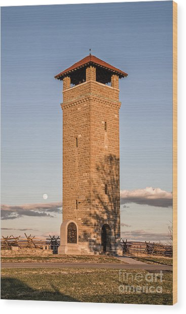 Antietam's Stone Tower Wood Print