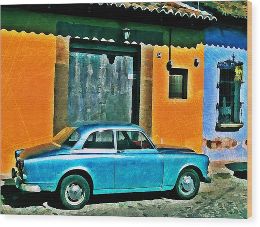 Antigua Volvo Wood Print