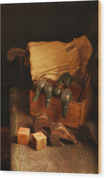 Wood Print featuring the photograph Antique by Kristia Adams