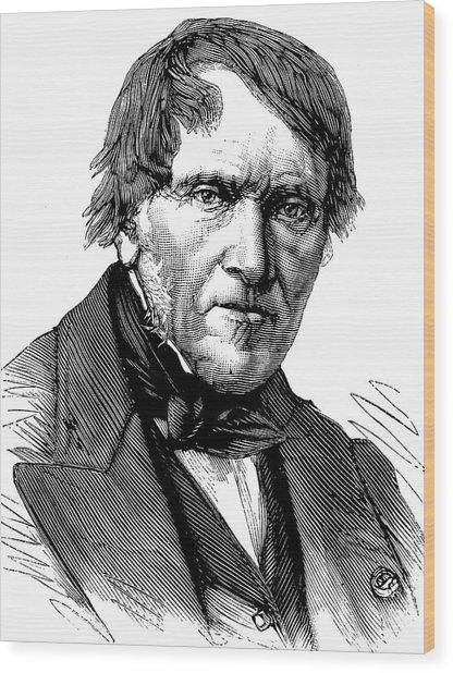 Antoine Cesar Becquerel Wood Print