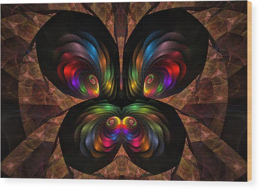 Apo Butterfly Wood Print