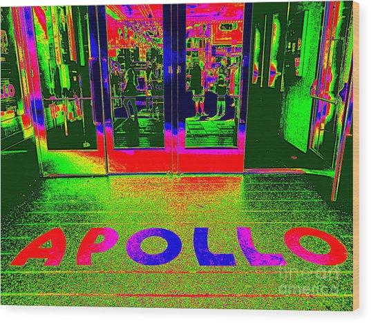 Apollo Pop Wood Print
