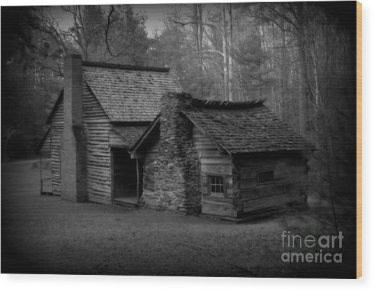 Appalachian Life Cades Cove Wood Print