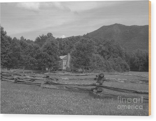 Appalachian Life Wood Print