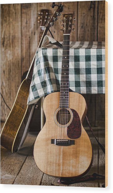 Appalachian Music Wood Print