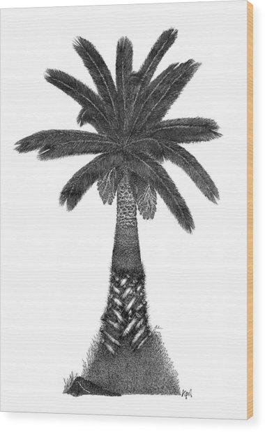 April '12 Wood Print