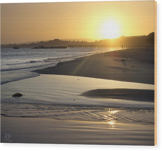 Aptos Wood Print