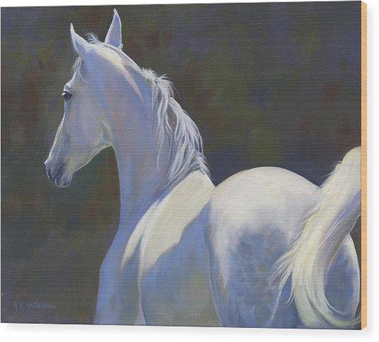 Arabian Light Wood Print