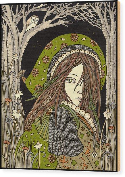 Aran Wood Print by Anita Inverarity