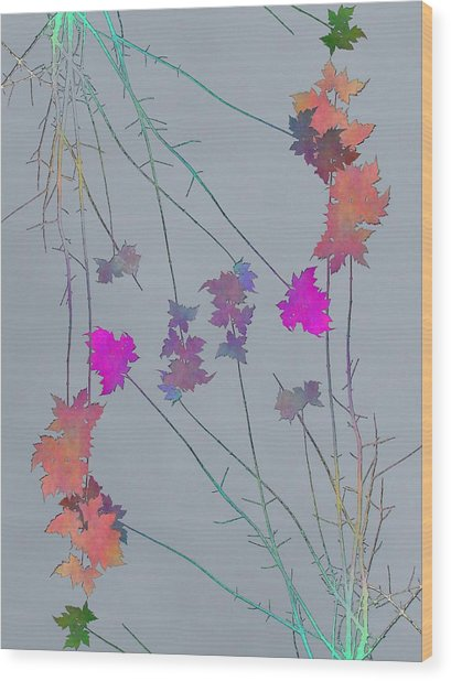 Arbor Autumn Harmony 1 Wood Print
