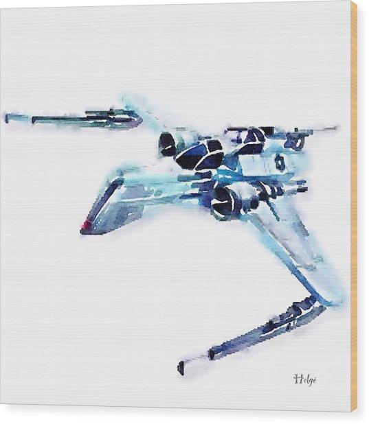 Arc-170 Starfighter Wood Print