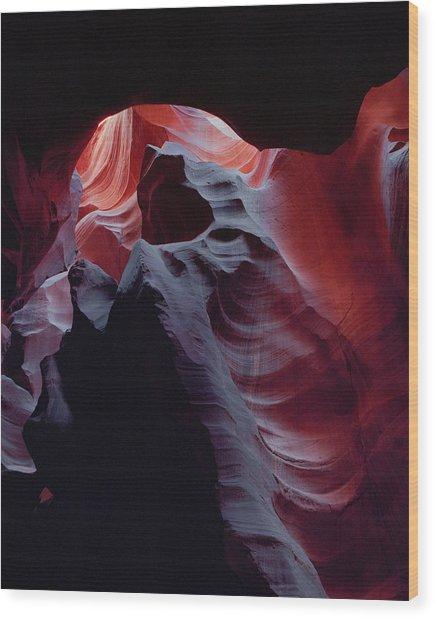 Arc Light-v Wood Print