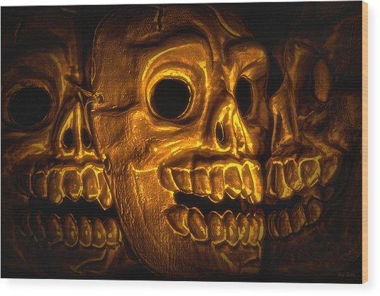 Archaeology Wood Print