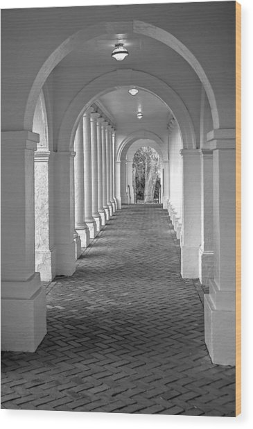 Arches At The Rotunda At University Of Va 2 Wood Print