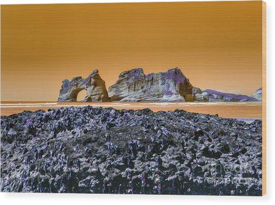 Archway Island Wood Print