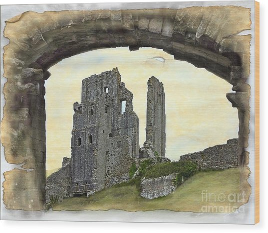 Archway To History Wood Print