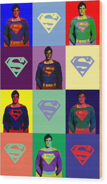 Are You Super? Wood Print