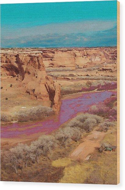 Arizona 2 Wood Print