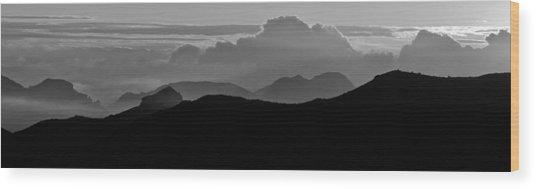Arizona View Wood Print