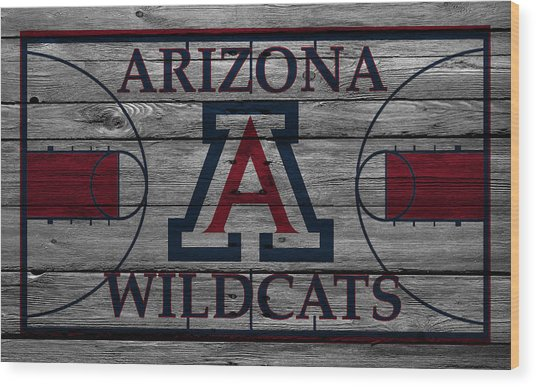 Arizona Wildcats Wood Print