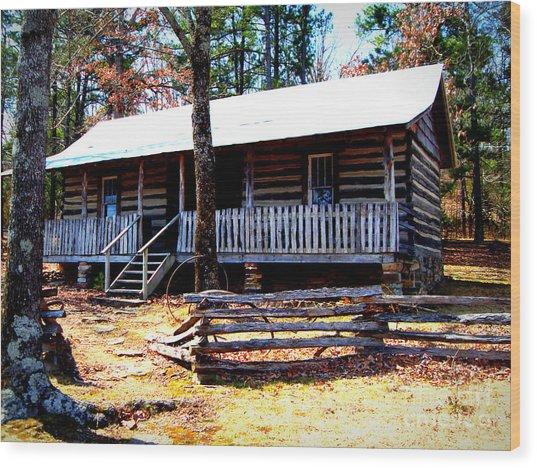 Arkansas' Heritage Wood Print