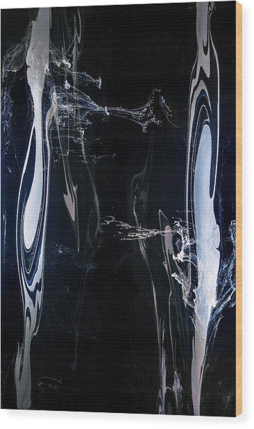 Armonia-symbiosis Wood Print by Petros Yiannakas