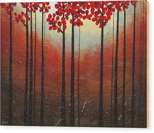 Aroma Do Campo Wood Print