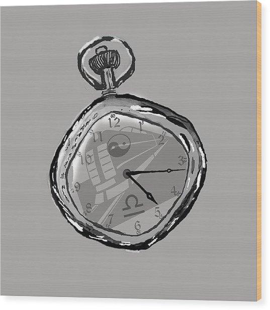 The Watch Wood Print
