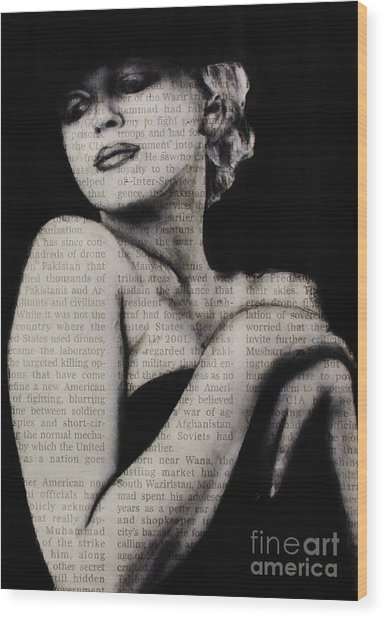 Art In The News 13-marilyn Wood Print