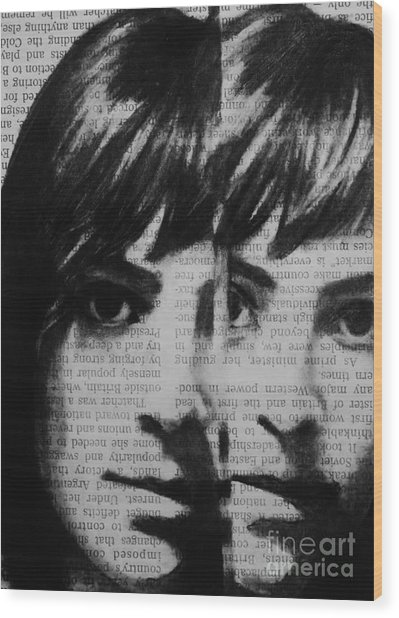 Art In The News 22 Wood Print